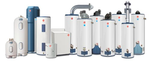 Water Heaters Installation and Plumbing Services